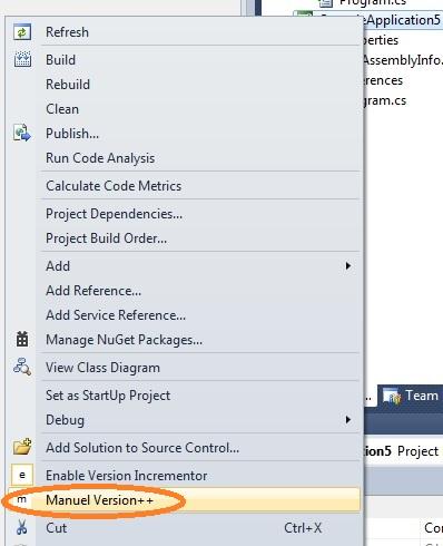Auto Version Incrementer Visual Studio Marketplace